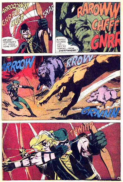 Brave and the Bold v1 #85 dc comic book page art by Neal Adams