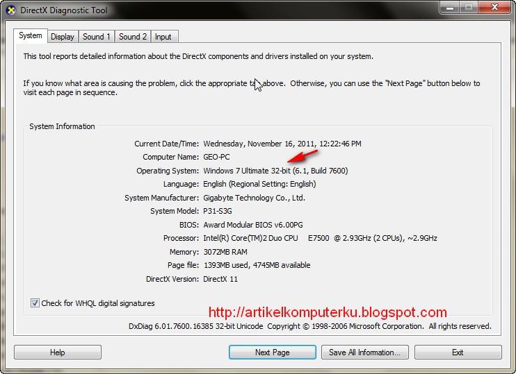 Cara check windows 7 32-bit vs 64-bit   yepi share everything.