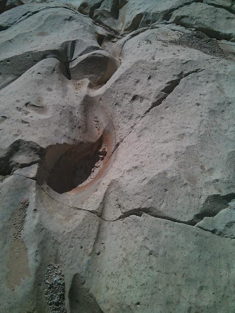תצורות בסלע בעין עבדת