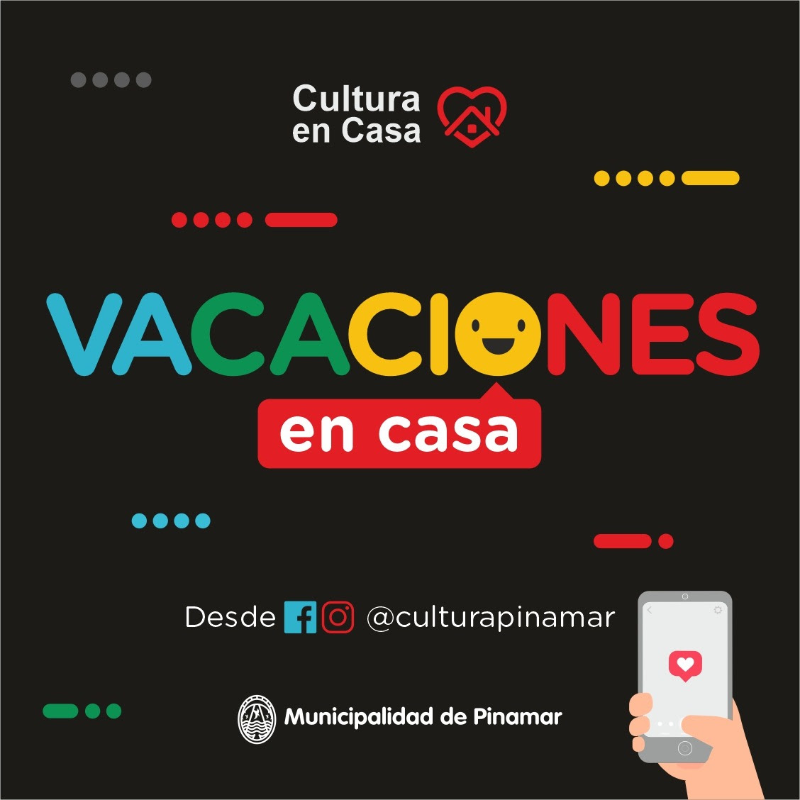 Cultura en Casa-Vacaciones en Casa
