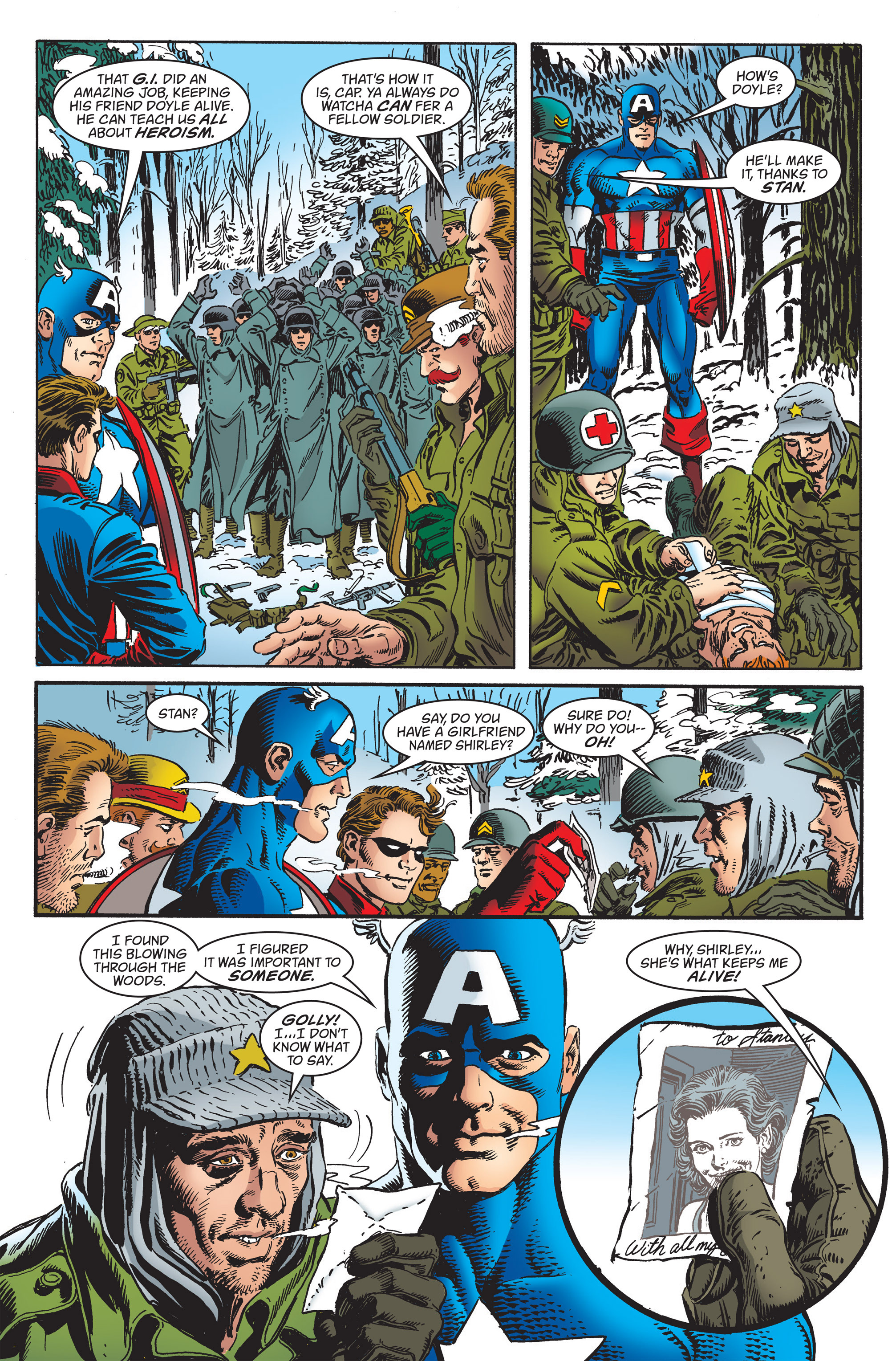 Captain America (1998) Issue #32 #38 - English 19