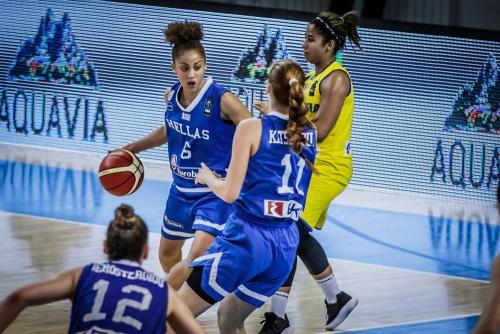 Ευρωπαϊκό Νέων Γυναικών : Μ.Βρετανία – Ελλάδα 64-72. Στην ένατη (9η) θέση η εθνική.
