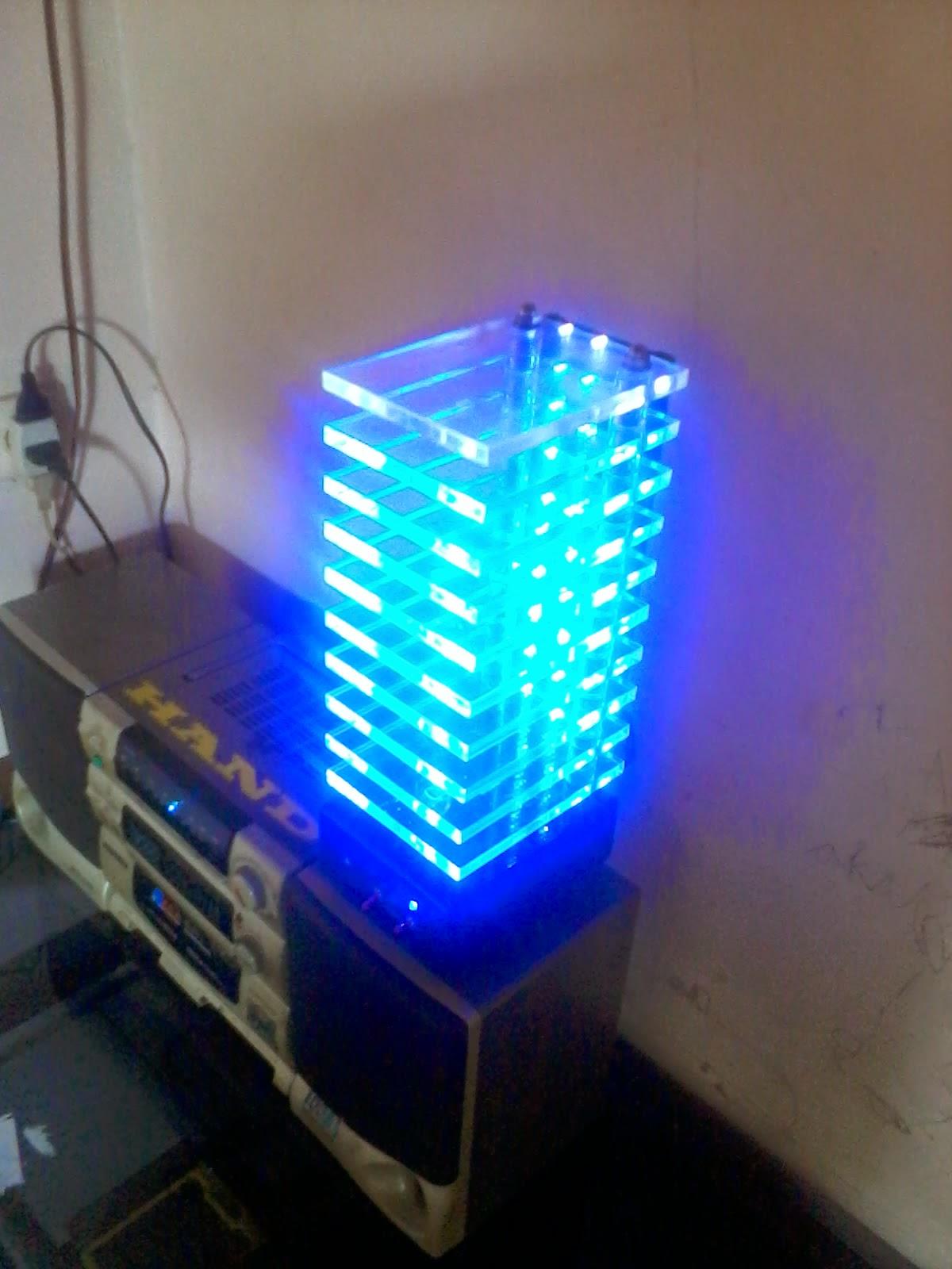 Lampu Led Akrilik Led Vu Tower Membuat Lampu Led Vu