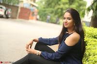 Poojita Super Cute Smile in Blue Top black Trousers at Darsakudu press meet ~ Celebrities Galleries 076.JPG