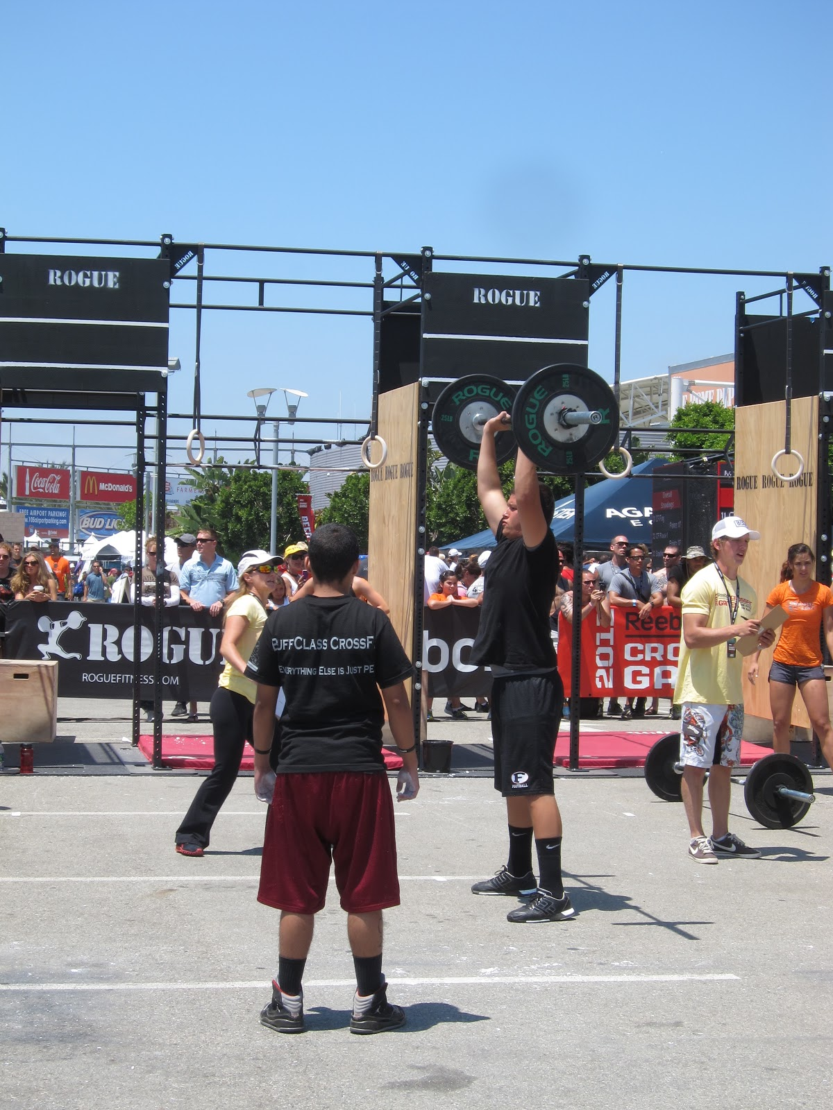 Dymally Challengers CrossFit: Some Pics From the Teen