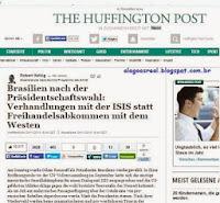 Brasil prefere negociar com o ISIS a ter acordos de livre comércio com o Ocidente - The Huffington Post