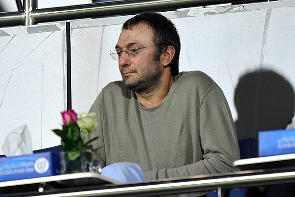 Anzhi owner Suleyman Kerimov is Russia's 19th richest person with more than $7 billion to his name