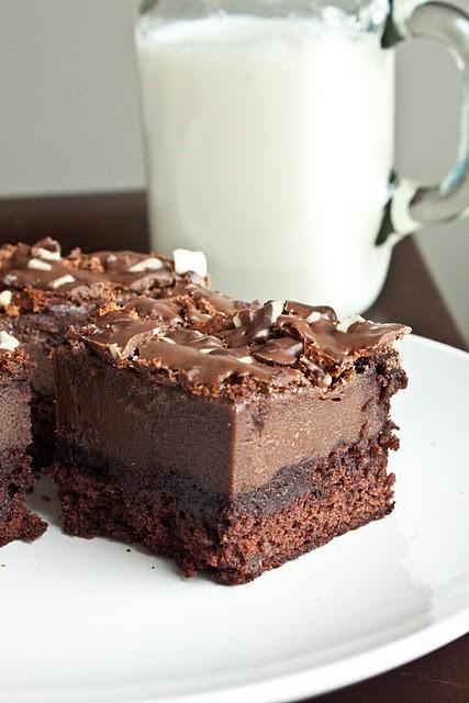 Chocolate Creme De Menthe Cake