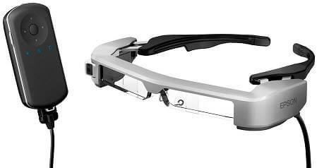 Epson Unveils New Moverio Smart Glasses for an Improved AR Experience