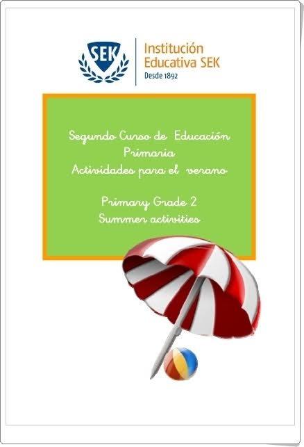 """""""Cuaderno de Actividades para el Verano de 2º de Primaria"""""""