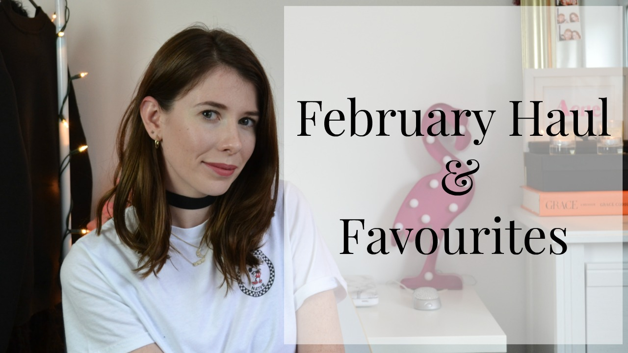 February haul video ft all my purchases this month from Zara, Topshop, H&M and Charlotte Tilbury