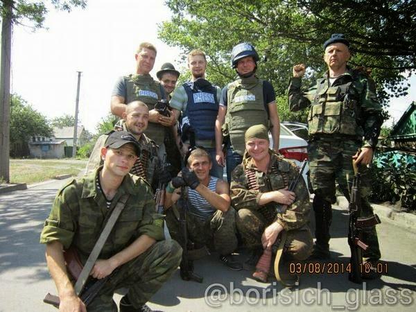 Бойцы Козыря и РОССИЯ 24 (справа вверху Инженер)