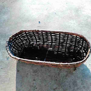Unique Extra Long Wicker Basket