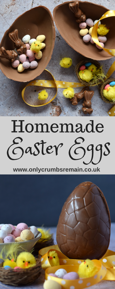 Find out how to make your own bespoke Easter eggs at home using milk, dark or plain chocolate and filling them with your favourite confectionery.