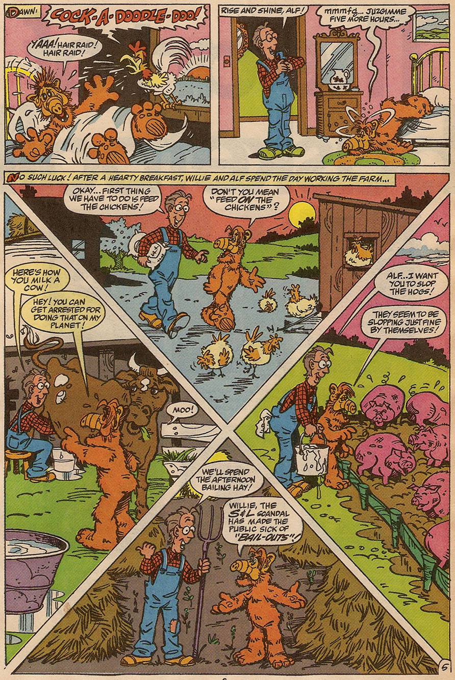 Read online ALF comic -  Issue #37 - 8