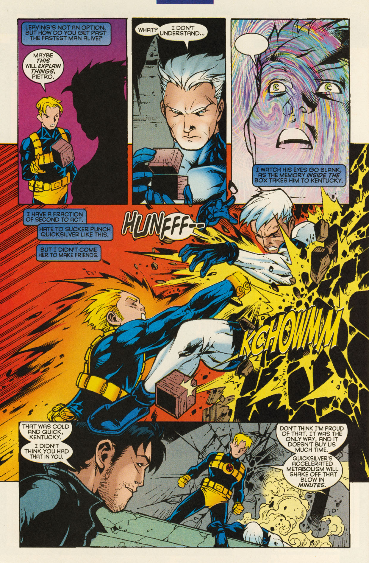 Read online X-Force (1991) comic -  Issue #94 - 30