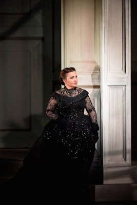 Albina Shagimuratova as Donna Anna - Mozart: Don Giovanni - Royal Opera House 2015 (Photo Mike Hoban)