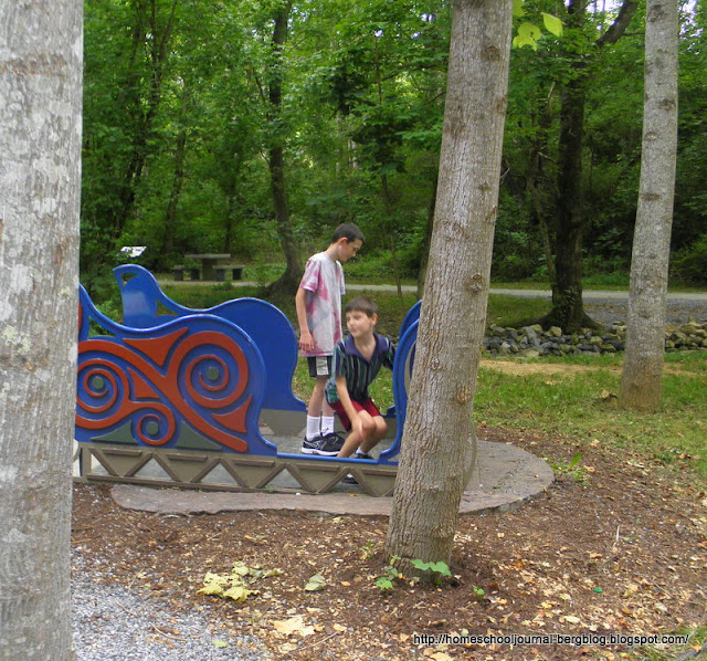 Warriors Path State Park Johnson City Tn: All Things Beautiful: Narnia Play-Spaces At Warrior's Path