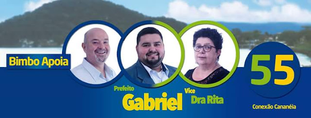 Gabriel é eleito prefeito de Cananéia
