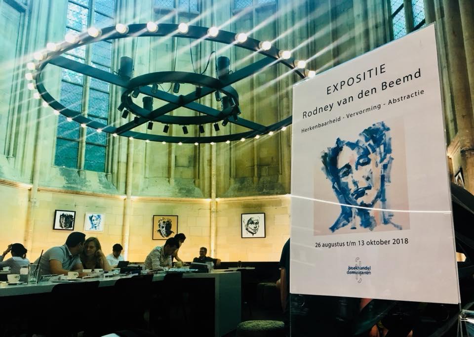 Expositie Boekhandel Dominicanen Rodney van den Beemd