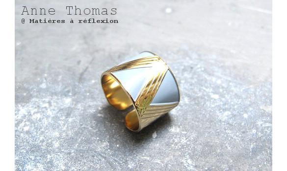 SOLDES bijoux Anne Thomas bague 1920