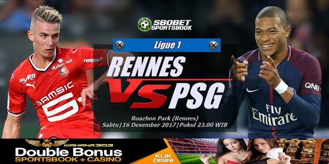 Prediksi Skor Rennes vs PSG, Prediksi Sepakbola 16 Desember 2017, Prediksi Bola Rennes vs PSG, Prediksi Jitu Rennes vs PSG, Preview Pertandingan, Detail Info, Ligue 1