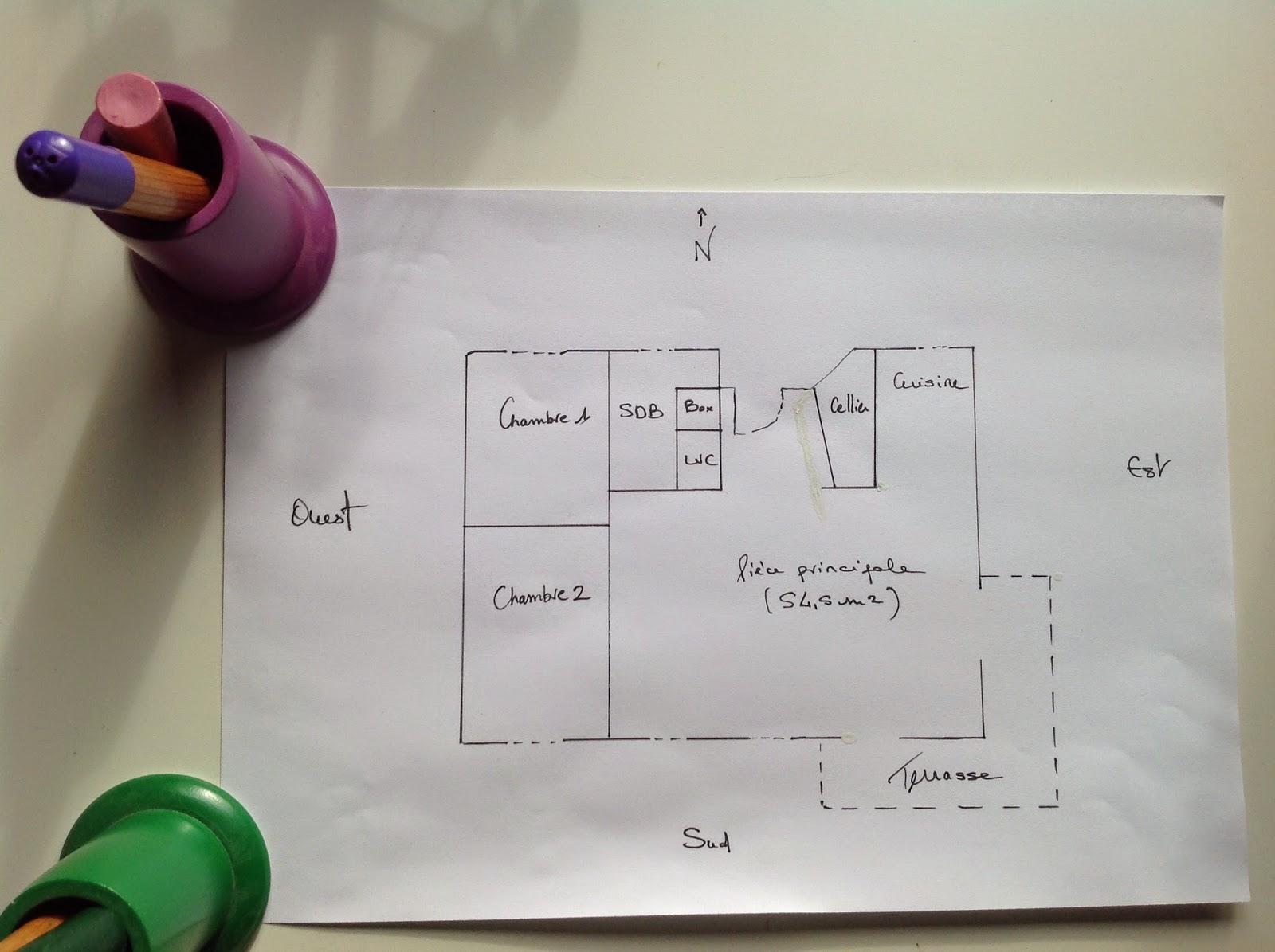 Great Plan De Maison Carre Plein Pied L With Plan Maison 100m2 Plein Pied
