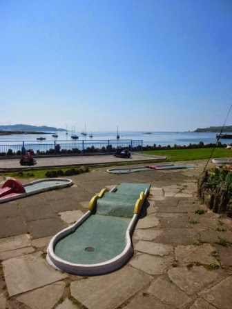 Crazy Golf in Millport on the Isle of Cumbrae