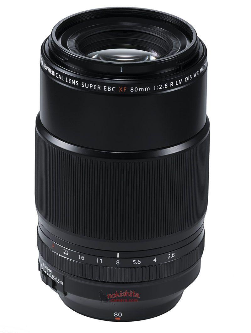 Объектив Fujinon XF 80mm f/2.8 R LM OIS WR