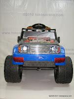 2 Mobil Mainan Aki Pliko PK9128N Adventure dengan 2 Dinamo Motor
