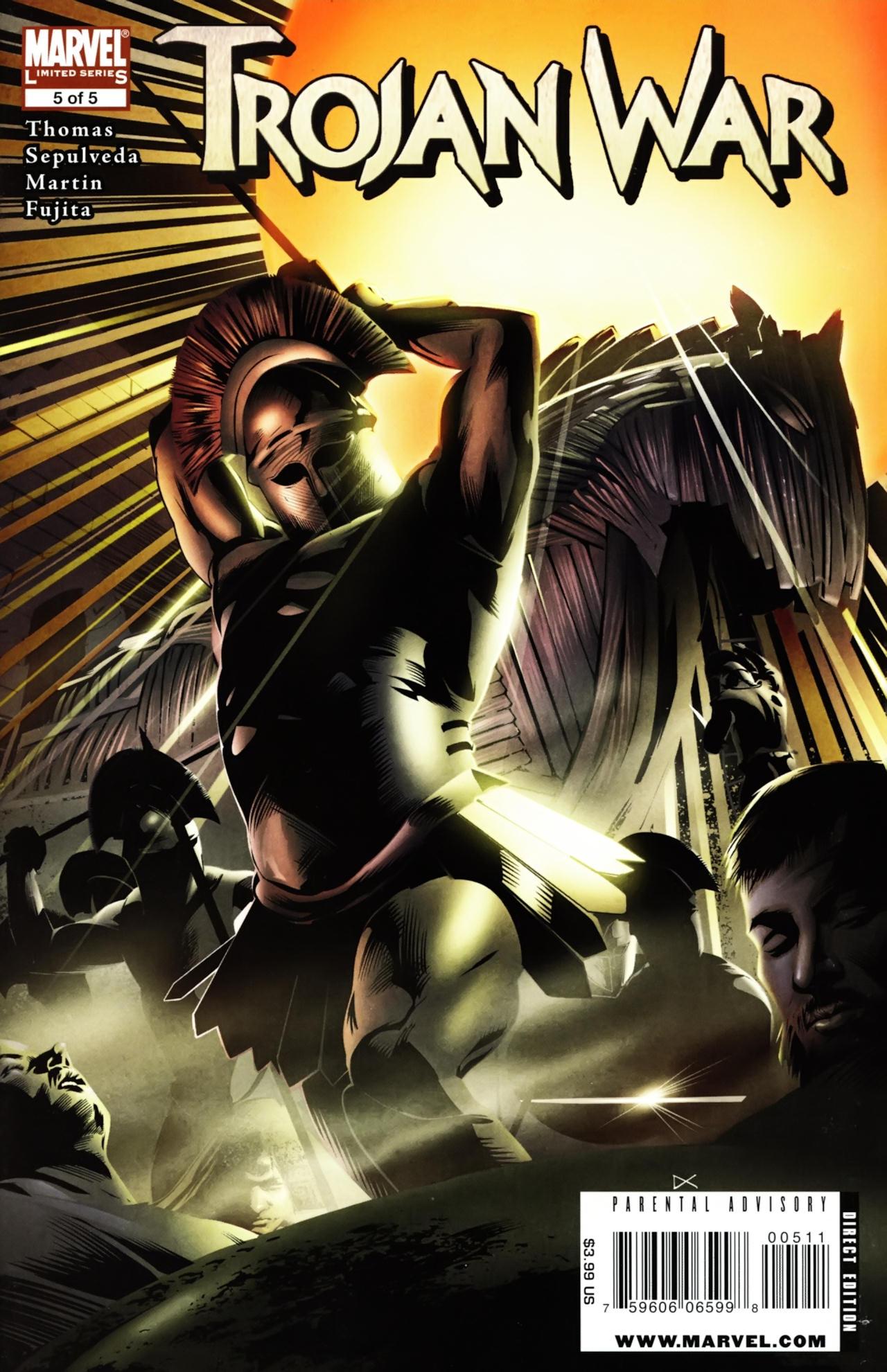 Read online Trojan War comic -  Issue #5 - 1