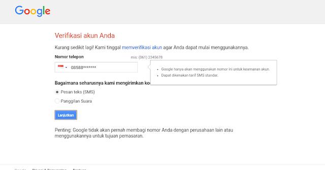 Update Cara Membuat Akun Gmail 2017
