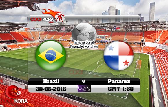 مشاهدة مباراة البرازيل وبنما اليوم 30-5-2016 مباراة ودية