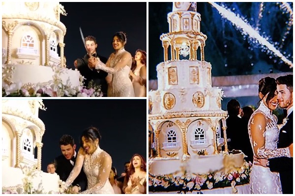 18 Foot Wedding Cake For Priyanka Chopra Nick Jonas Is Meme Worthy