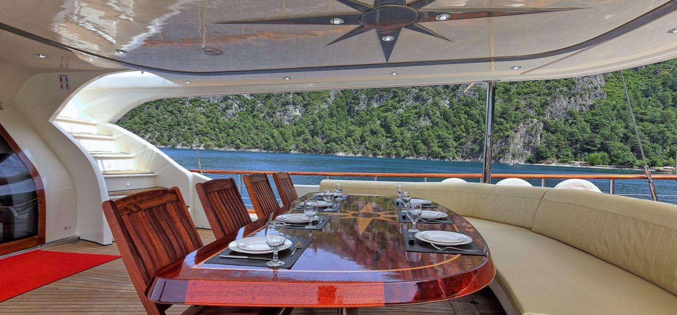 Selya yachting luxury yatch for rent HCMC Vietnam