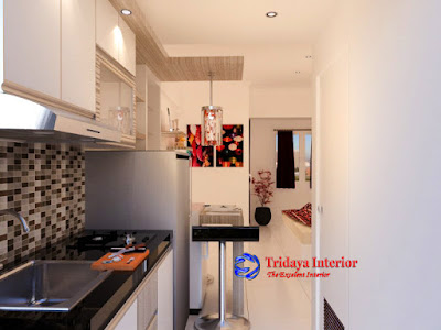 kitchen set-Type-Studio-Apartemen-Bandara-City