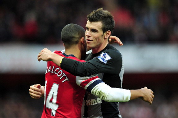 Theo Walcott and Gareth Bale remain great friends today