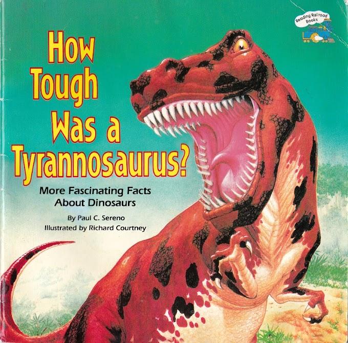 Vintage Dinosaur Art: How Tough was a Tyrannosaurus?