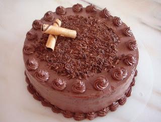 kue ulatah coklat sederhana