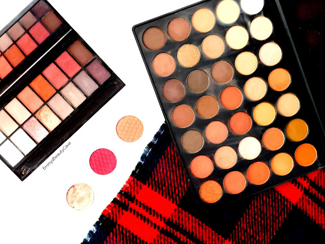 Morphe 35O Palette, Makeup Revolution New-Trals vs Neutrals, ColourPop Elixir Paradox Weenie