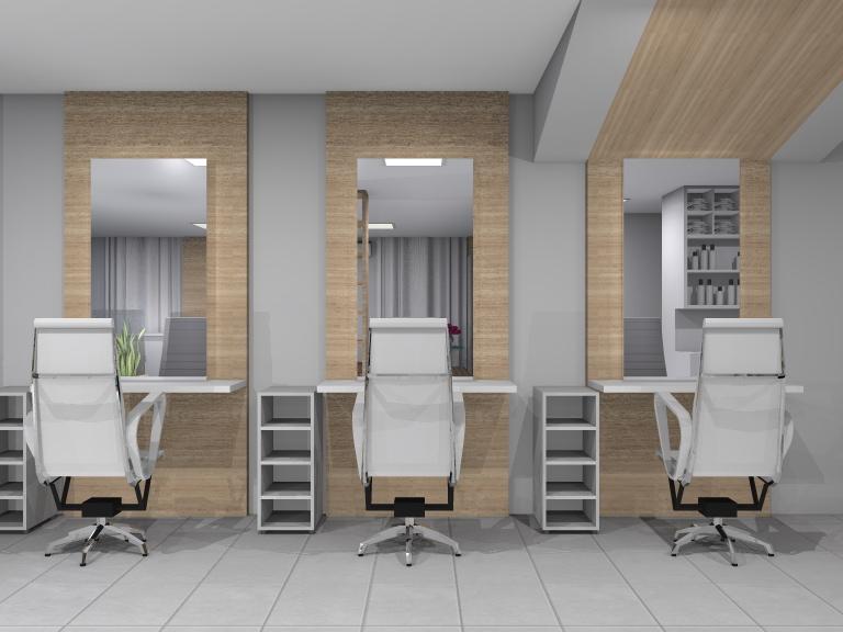 Arquitetura e Interiores Projeto de Interiores  Salo de