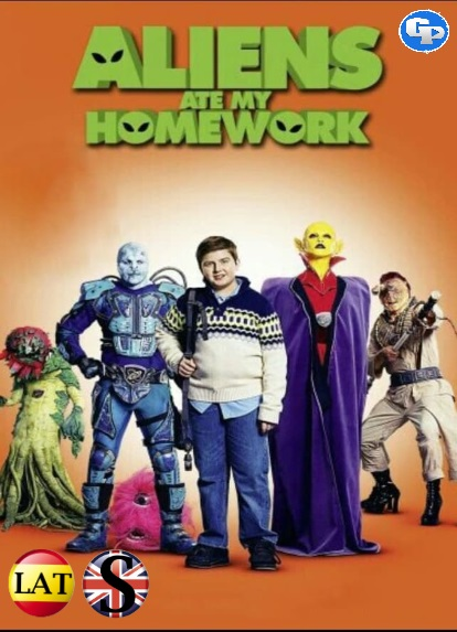Aliens Ate My Homework (2018) HD 720P LATINO/INGLES