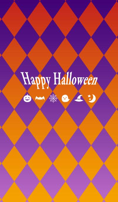Purple&Orange_Happy Halloween