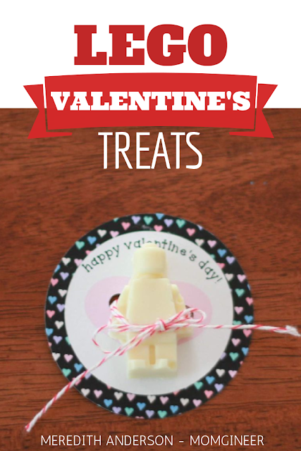 Make your own delicious and adorable LEGO Valentine's Day Treats! | Meredith Anderson - Momgineer