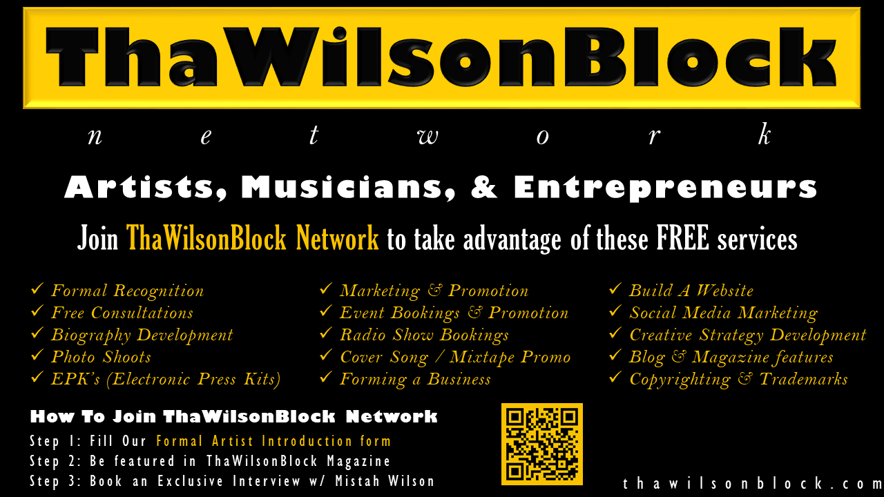 Join ThaWilsonBlock Network