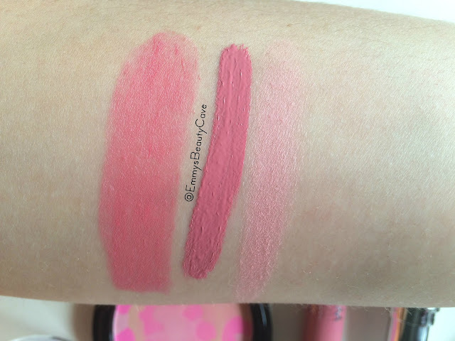 Freedom Makeup London Swatches