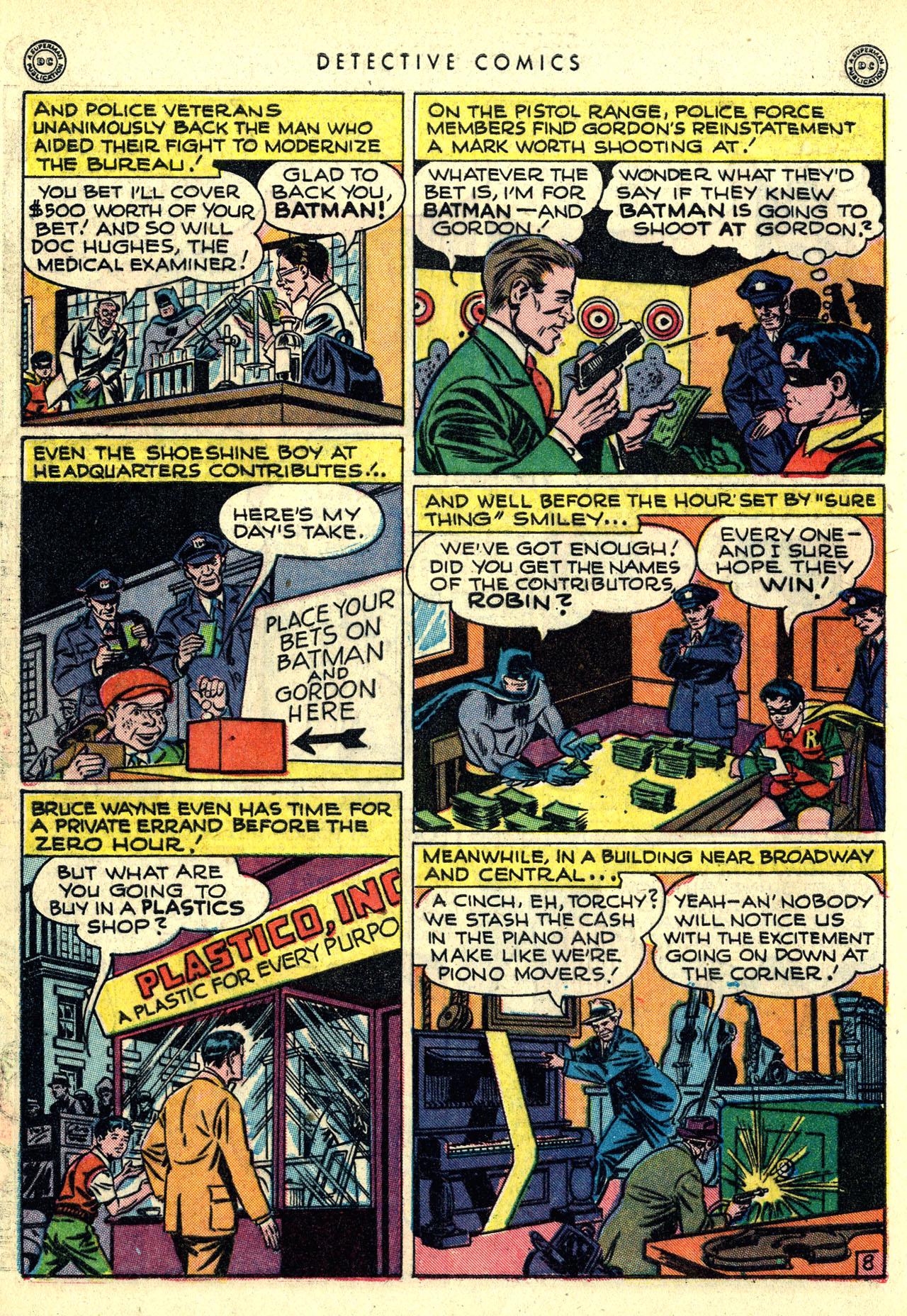 Read online Detective Comics (1937) comic -  Issue #121 - 10