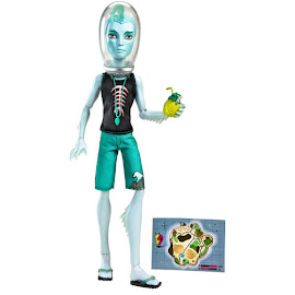 """MH Skull Shores Gillington """"Gil"""" Webber Doll"""