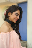 Rakul Preet Singh in lovely Pink Crop Top and Black Trousers at Jaya Janaki Nayaka success meet 016.JPG