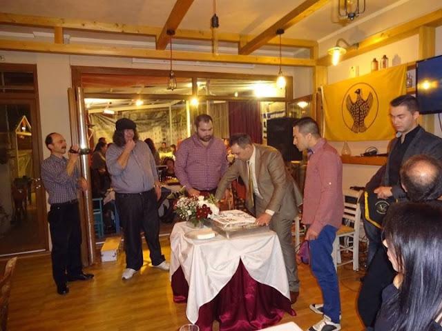 Με Ποντιακή λύρα και νταούλια έκοψαν την πίτα τους στη Χίο